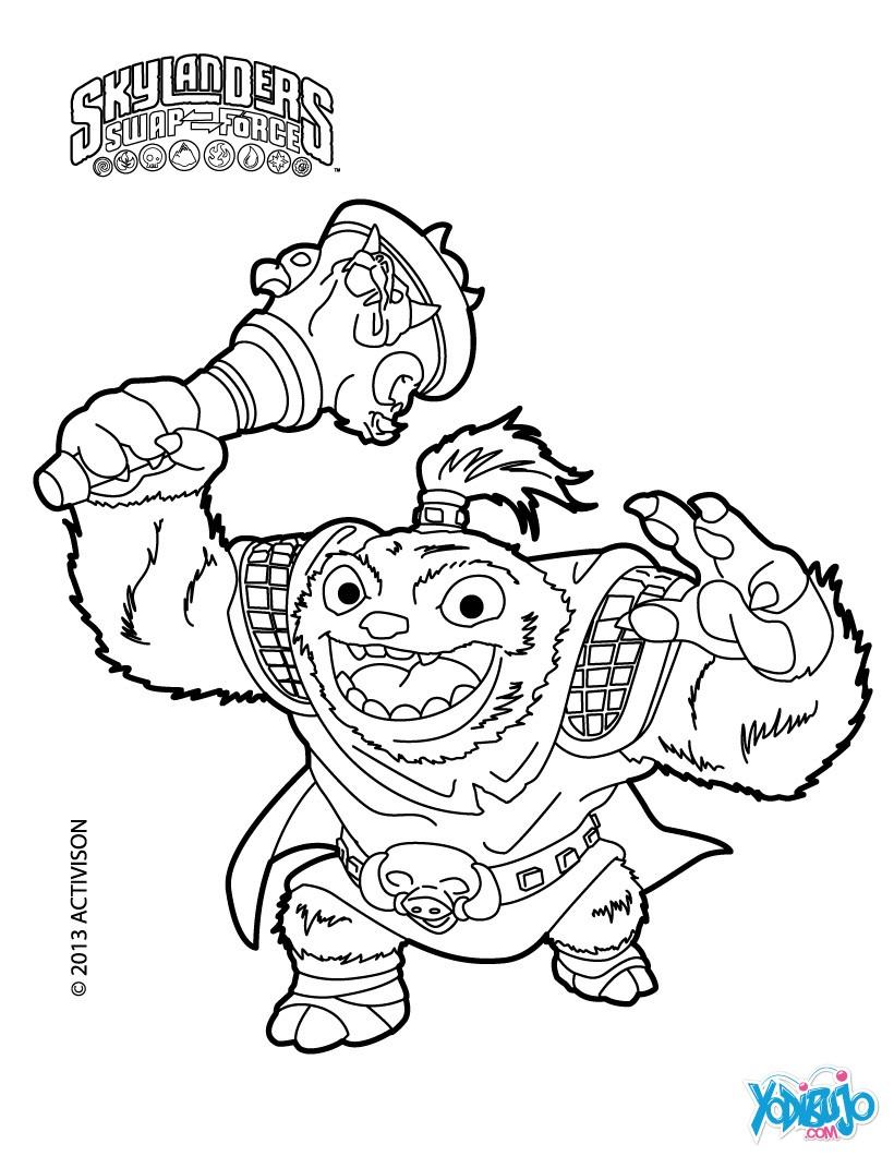 Dibujos para colorear zoo lou - es.hellokids.com