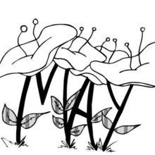 Dibujo para colorear : Flor N°1