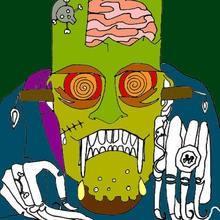 Halloween, Dibujos para colorear Monstruos