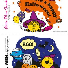 Calabaza Mr Men y Little Miss