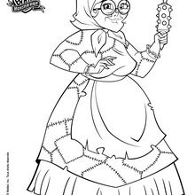 Dibujos para colorear monster high freaky fusion: bonita ...