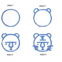 Aprender a dibujar : Cabeza de Tigre