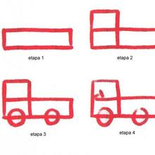 Aprender a dibujar : Camión
