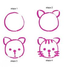 Aprender a dibujar : Dibujar un Gato