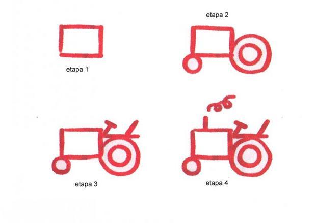Como Dibujar Un Tractor Wwwimagenesmycom