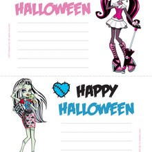 Manualidad infantil : Muñecas Monster High