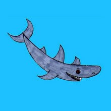 Aprender a dibujar : Tiburón