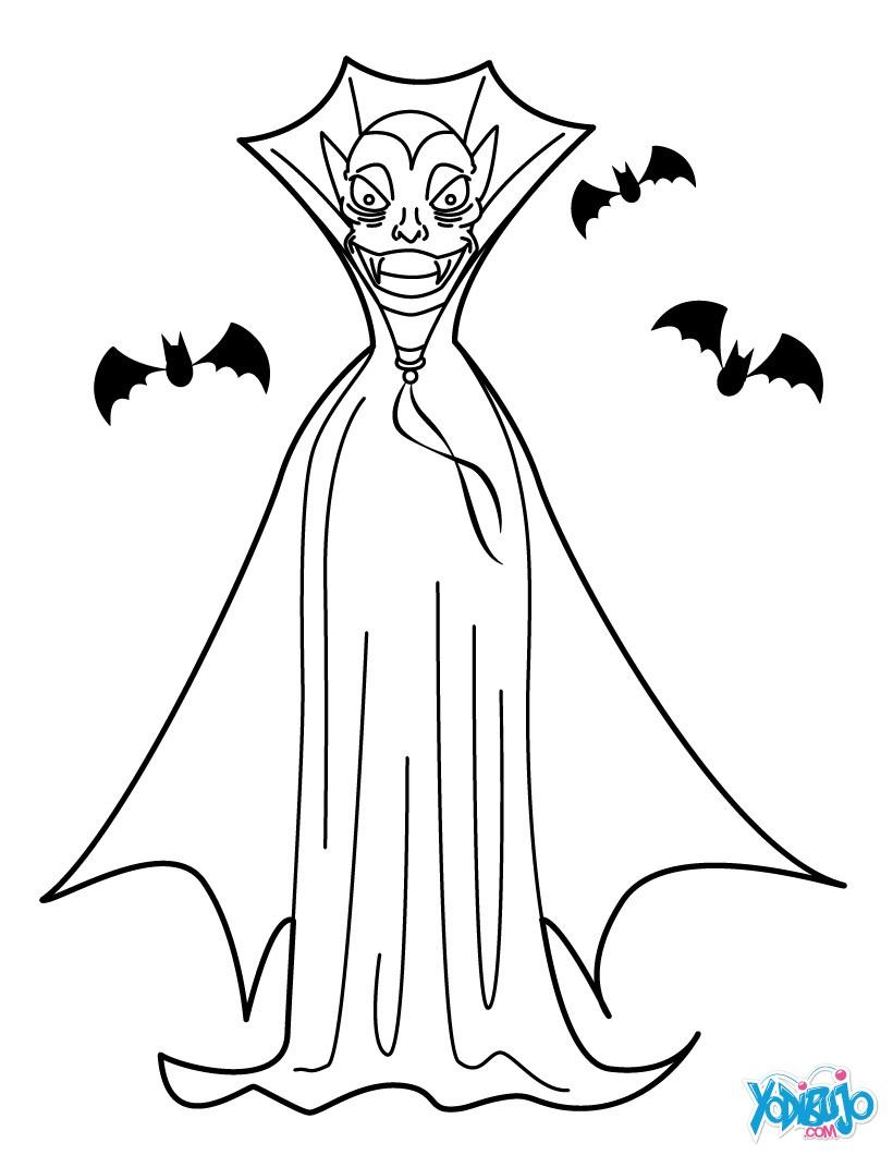 Dibujos de Murciélagos para colorear - 16 murciélagos de Halloween ...
