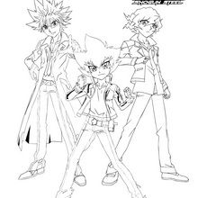 Groupo BEYBLADE 3 personajes