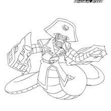 Dibujo para colorear : Pirate Orochi