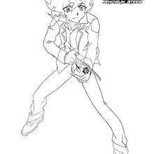 Dibujo para colorear : Shinobu ataca