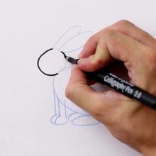 Truco para dibujar en vídeo : Dibujar un conejo
