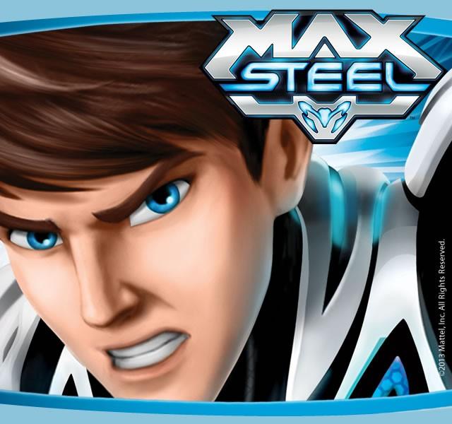 Max Steel para colorear