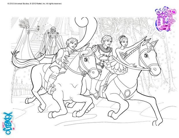 Dibujos para colorear bailarines a horcajadas  eshellokidscom