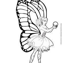 Barbie Mariposa y la flor de Flutterfield
