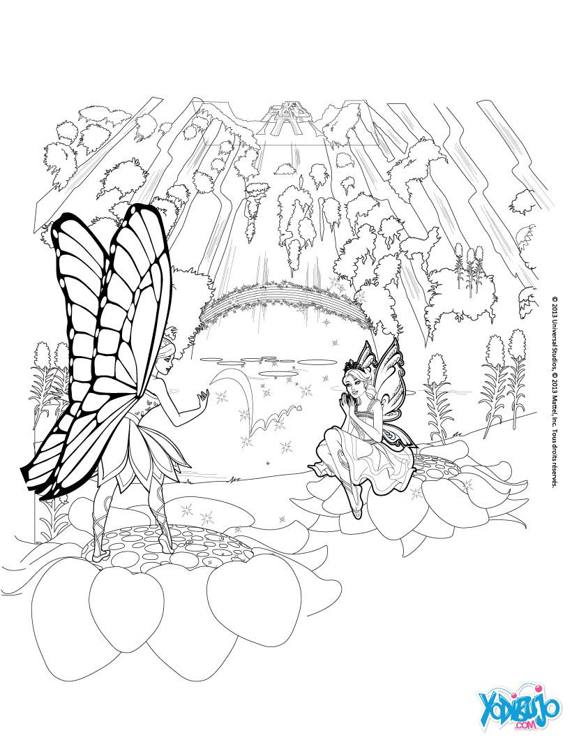 Dibujos Para Colorear De Barbie Hada Dibujos para colorear el hada ...