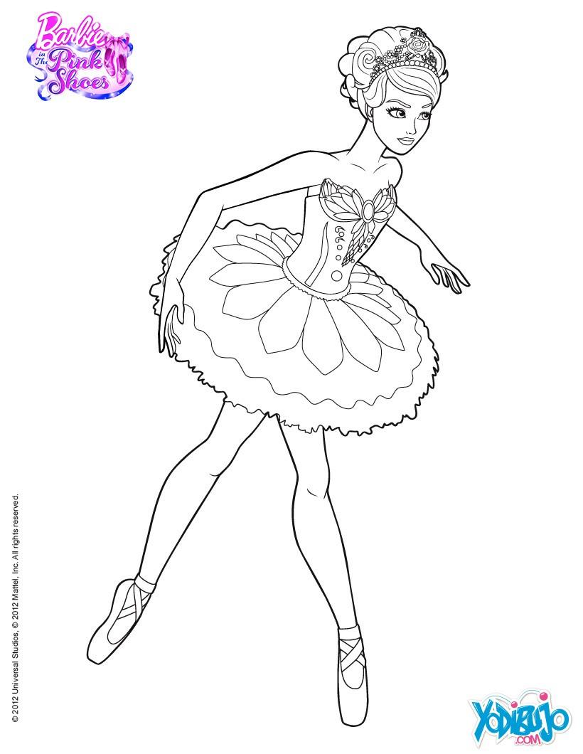 Dibujos para colorear bailarina estrella del ballet giselle  es
