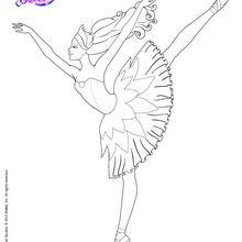 Bailarina con las zapatillas mágicas