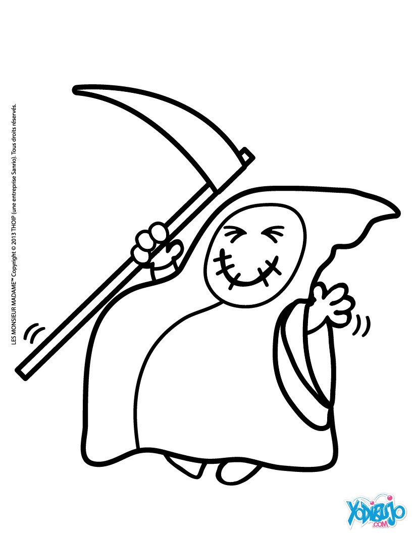 Fantasma : Dibujos para Colorear, Dibujo para Niños, Manualidades ...