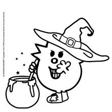 Dibujo para colorear : Doña Terror