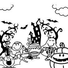 Los Señordones disfrazados para Halloween