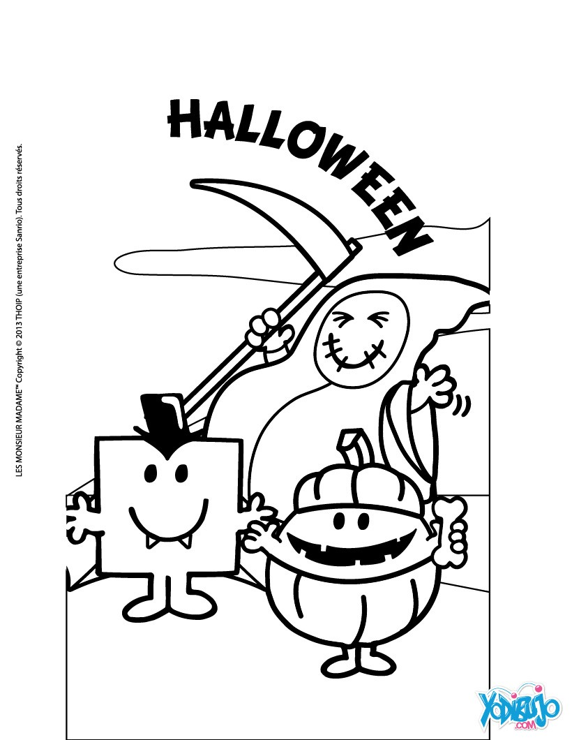 Mr Men y Little Miss : Dibujos para Colorear, Manualidades para ...