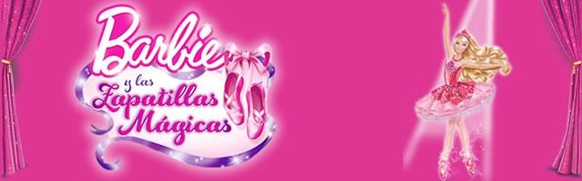 Dibujos de Barbie y las Zapatillas mágicas para colorear