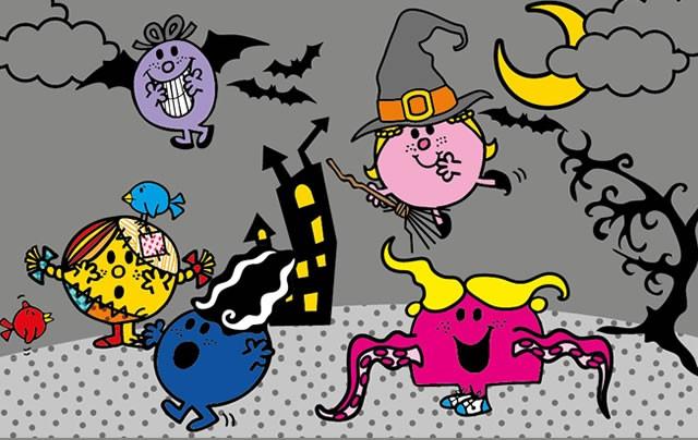Dibujos de Mr Men y Little Miss para colorear