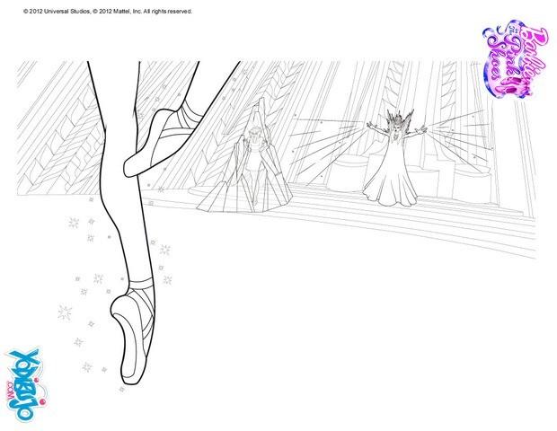 Dibujos para colorear las zapatillas mgicas  eshellokidscom