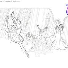 Cristina baila para la reina de las nieves