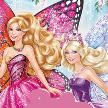 Dibujos de BARBIE Mariposa y la princesa de las Hadas