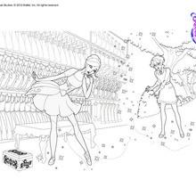 Dibujos Para Colorear Cristina Y Las Zapatillas Hechizadas Es