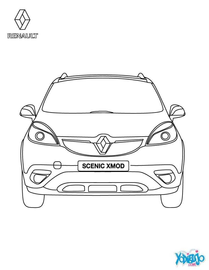 Renault : Dibujos para Colorear, Juegos Gratuitos, Dibujo para Niños ...
