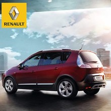 Renault SCÉNIC rojo oscuro