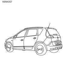 Línea del Renault Scénic