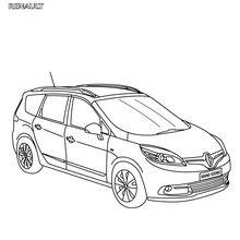 Renault Scénic XMOD gratis