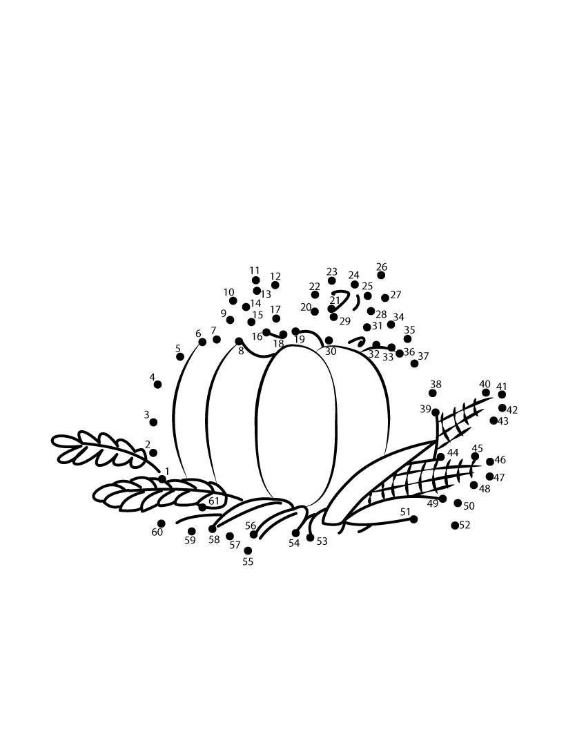 Acción de Gracias para niños - dibujos para colorear, juegos y ...