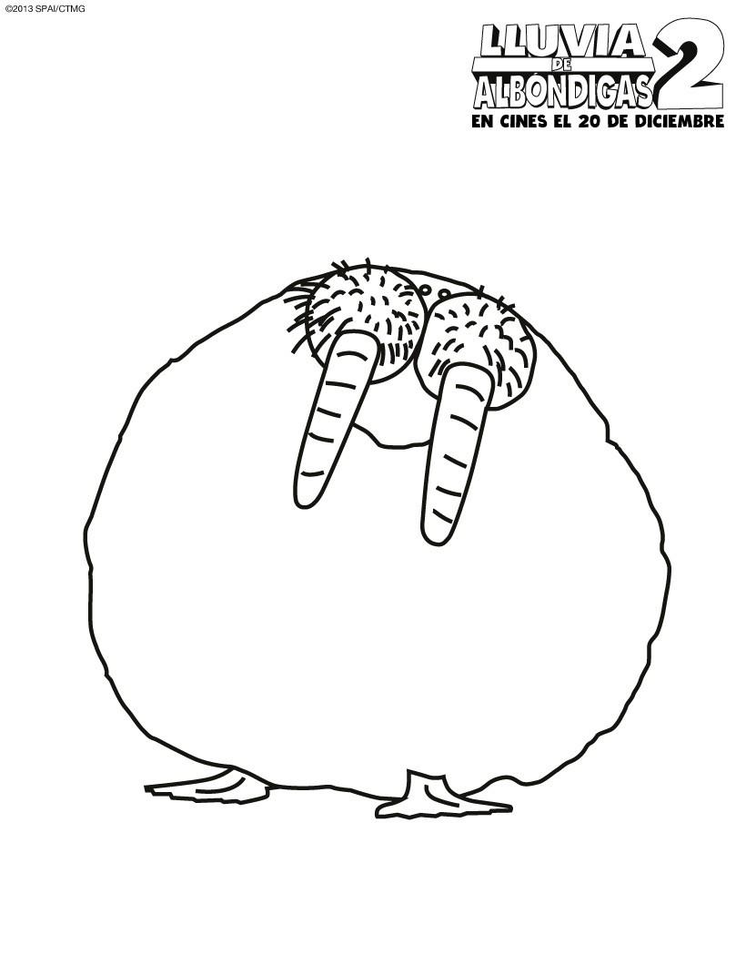 Dorable Página De Hamburguesa Para Colorear Regalo - Dibujos Para ...