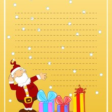 carta navidad regalos