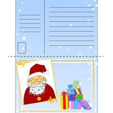 Manualidad infantil : Querido Santa Claus