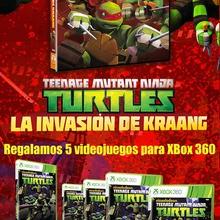 Xbox 360 Tortugas Ninja