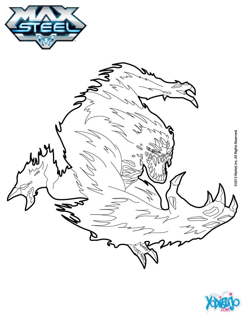 Dibujos para colorear elementor fuego - es.hellokids.com