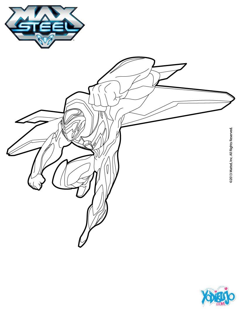 Dibujos Para Colorear De Max Steel Imagui