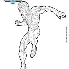 Max Steel saltando