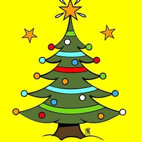 Juegos de arbolitos de navidad para pintar