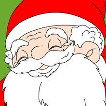 Puzzle en línea : Papa Noel