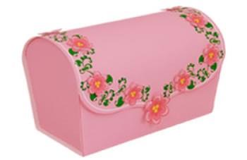Caja Rosa Romántica