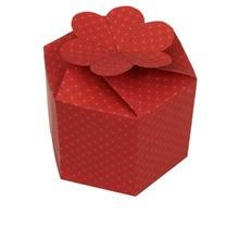 Manualidad infantil : Caja hexagonal