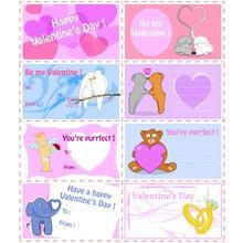 Manualidad infantil : Etiquetas para regalos