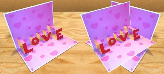 Actividades Manuales De Tarjeta Pop Up 3d Amor Es Hellokids Com